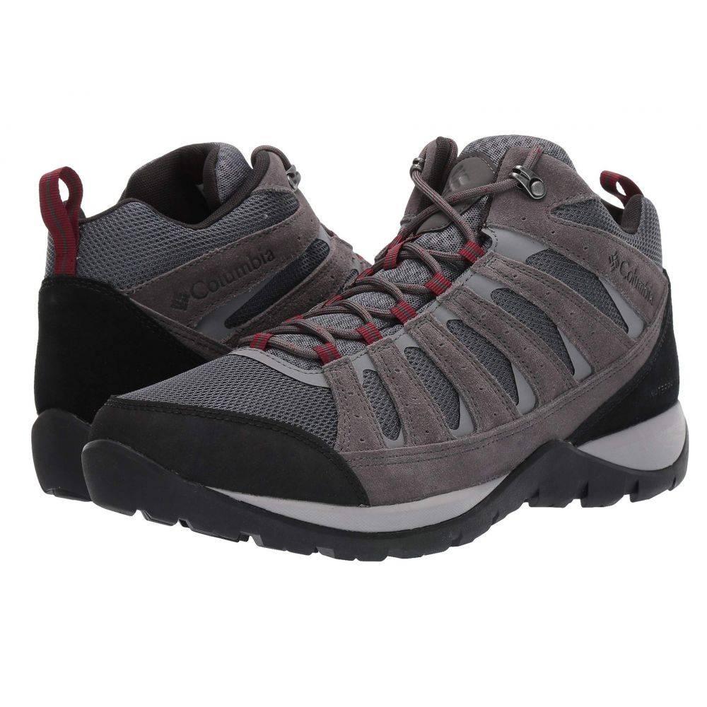 コロンビア Columbia メンズ ハイキング・登山 シューズ・靴【Redmond(TM) V2 Mid Waterproof】Graphite/Red Jasper
