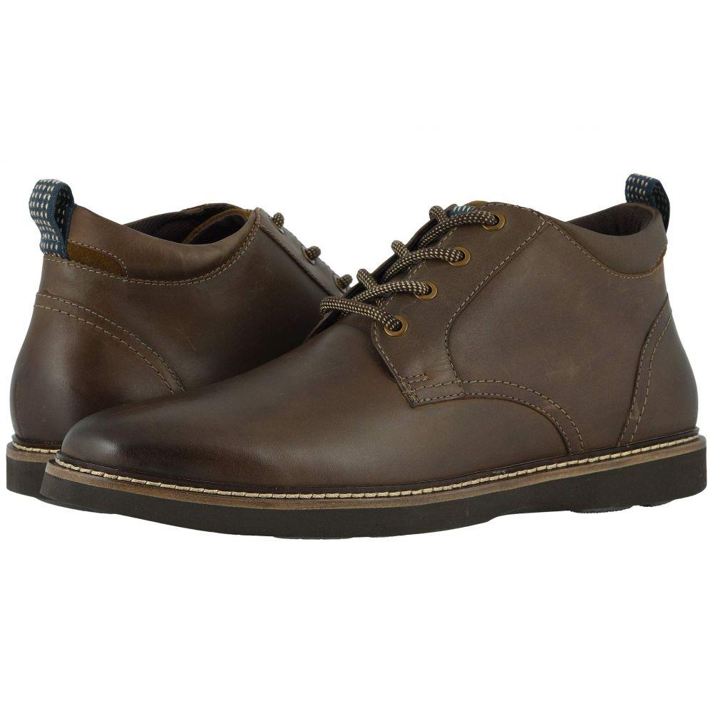 ナンブッシュ Nunn Bush メンズ ブーツ チャッカブーツ シューズ・靴【Ridgetop Plain Toe Chukka】Brown CH