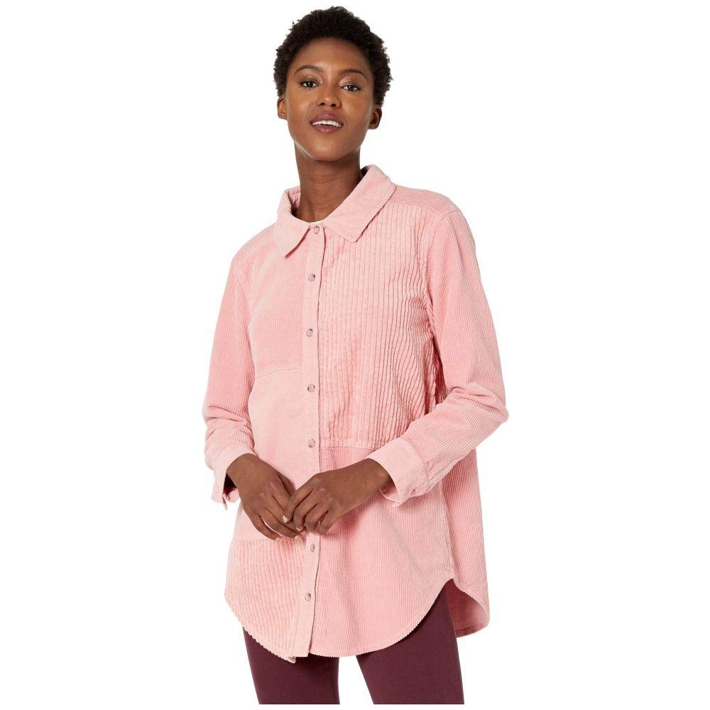 モドオードック Mod-o-doc レディース ブラウス・シャツ トップス【Corduroy Mixed Shirt】Blush