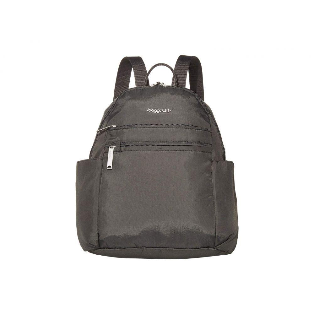 バッガリーニ Baggallini レディース バックパック・リュック バッグ【Anti-Theft Vacation Backpack】Charcoal