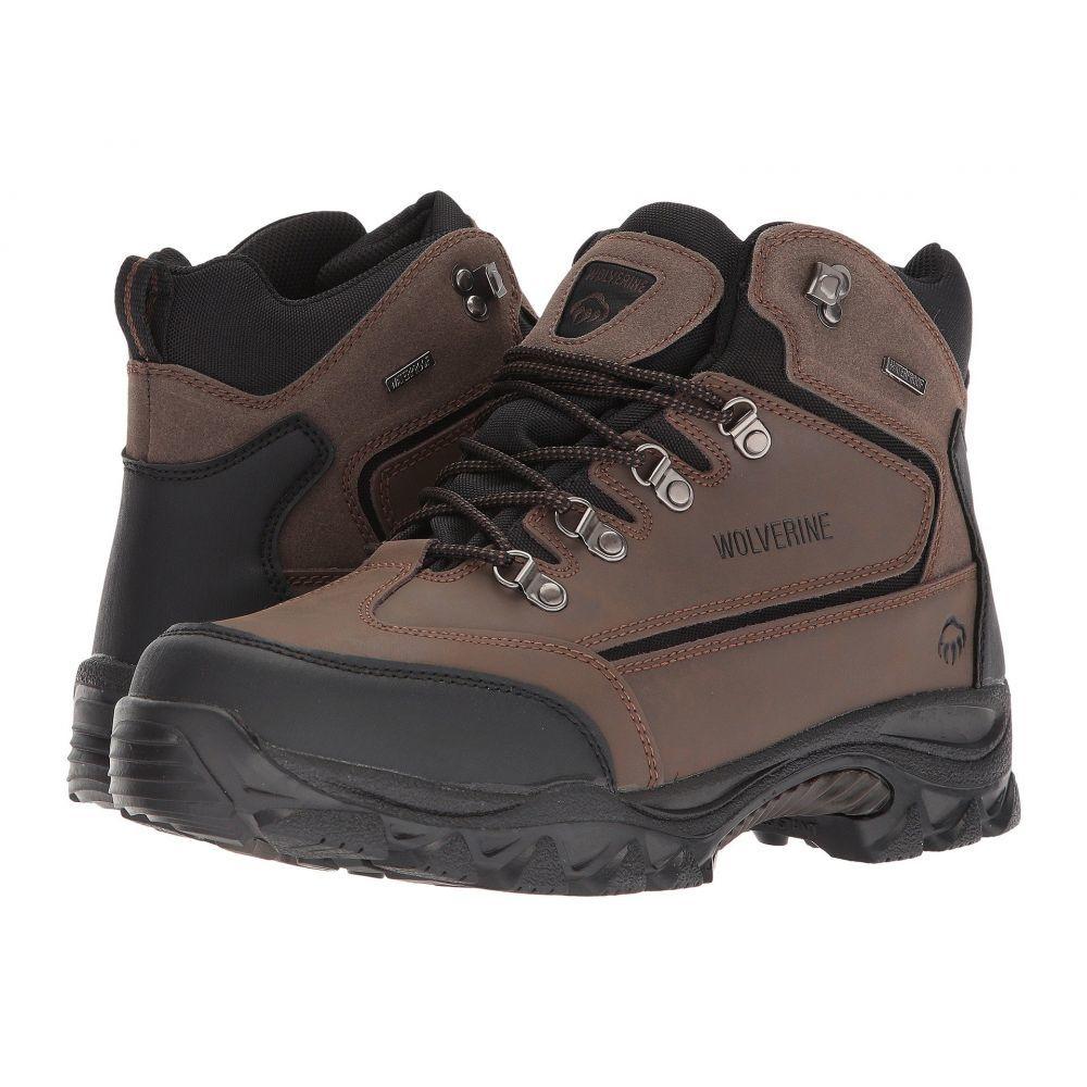 ウルヴァリン Wolverine メンズ ハイキング・登山 ブーツ シューズ・靴【Spencer Waterproof Hiking Boot】Brown/Black