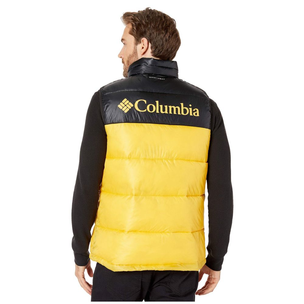 コロンビア Columbia メンズ ベスト・ジレ トップス【Pike Lake Vest】Stinger/Black/Stinger Logo