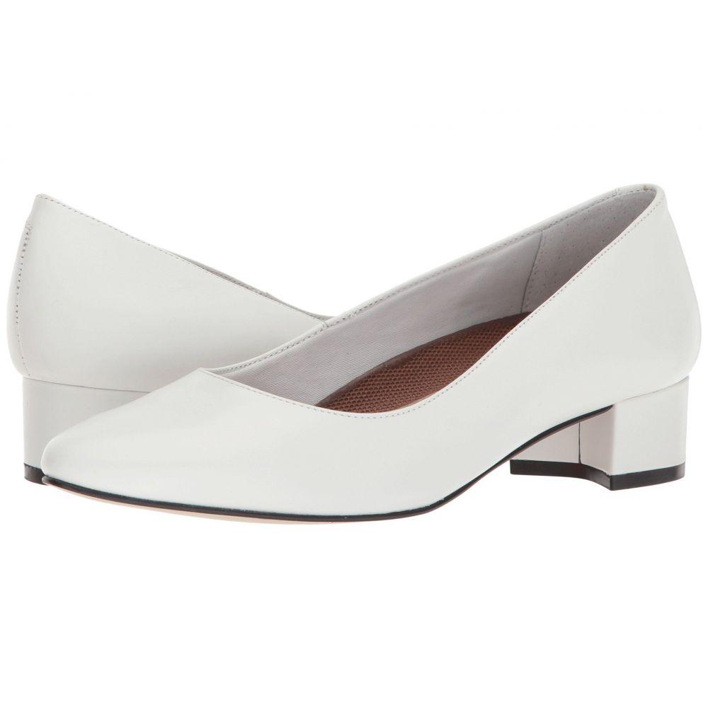 ウォーキング クレードル Walking Cradles レディース ヒール シューズ・靴【Heidi】White Leather