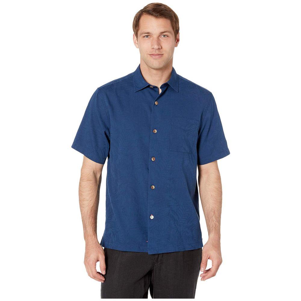 トミー バハマ Tommy Bahama メンズ シャツ トップス【Camden Coast Shirt】Navy