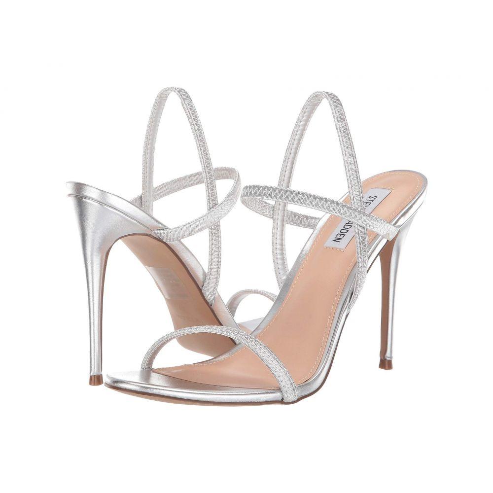 スティーブ マデン Steve Madden レディース サンダル・ミュール シューズ・靴【Gabriella Heeled Sandal】Silver