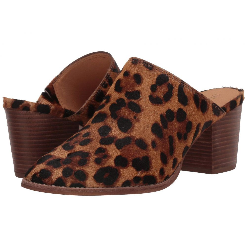 メイドウェル Madewell レディース ヒール シューズ・靴【Harper Mule】Truffle Multi Leopard Haircalf