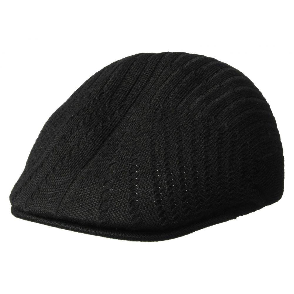 カンゴール Kangol メンズ 帽子 【Beam Rib 507】Black