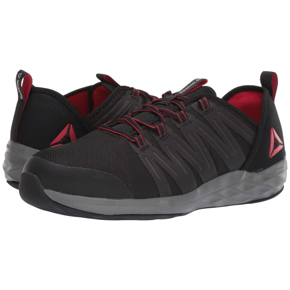 リーボック Reebok Work メンズ シューズ・靴Astroride Work Black Red Dark Greyvg7yI6mYbf