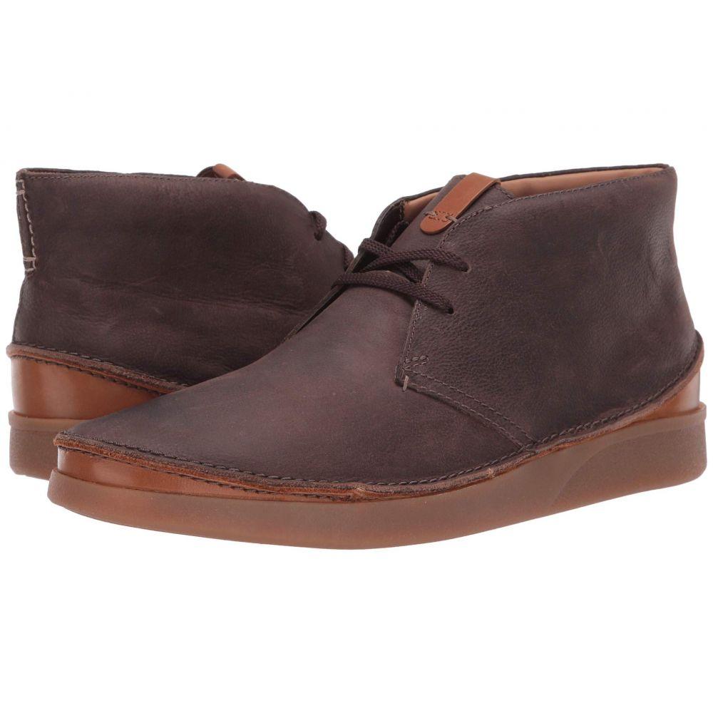 クラークス Clarks メンズ ブーツ シューズ・靴【Oakland Rise】Dark Brown Leather