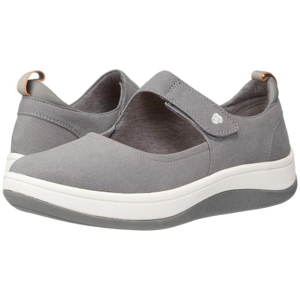 クラークス Clarks レディース スニーカー シューズ・靴【Arla Air】Grey Textile