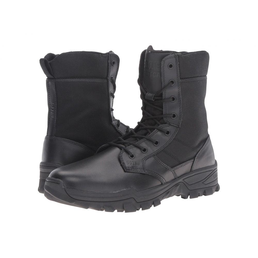 5.11 タクティカル 5.11 Tactical メンズ ブーツ シューズ・靴【Speed 3.0 Side Zip Boot】Black