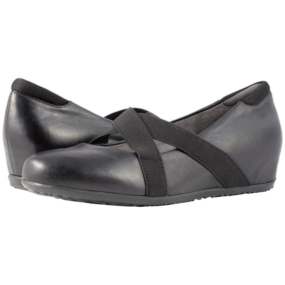 ソフトウォーク SoftWalk レディース ヒール シューズ・靴【Waverly】Black Soft Leather