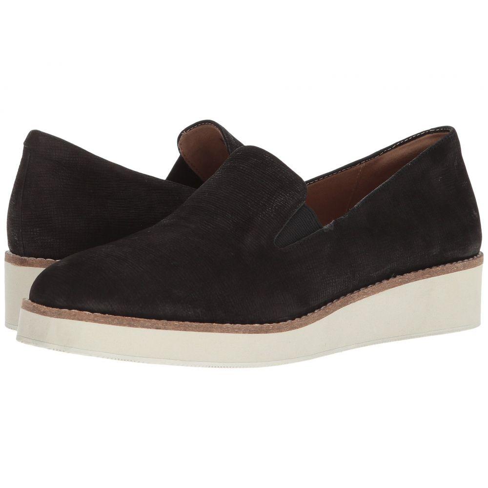 ソフトウォーク SoftWalk レディース ローファー・オックスフォード シューズ・靴【Whistle】Black Embossed Soft Leather