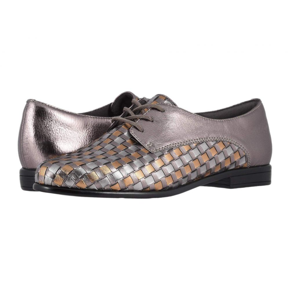 トロッターズ Trotters レディース ローファー・オックスフォード シューズ・靴【Lizzie】Pewter Multi