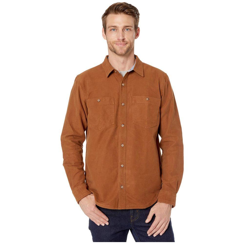 トードアンドコー Toad&Co メンズ シャツ トップス【Morrison Long Sleeve Shirt】Brown Sugar