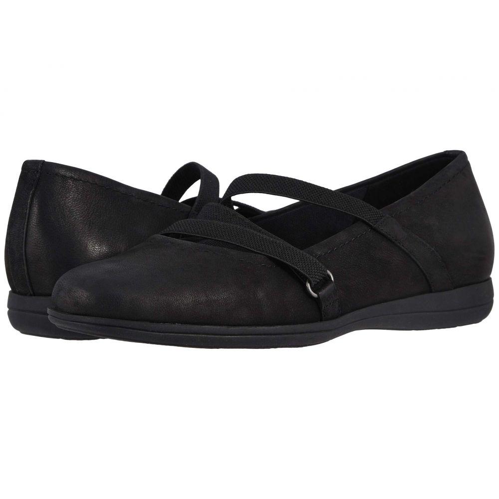 トロッターズ Trotters レディース スリッポン・フラット シューズ・靴【Della】Black