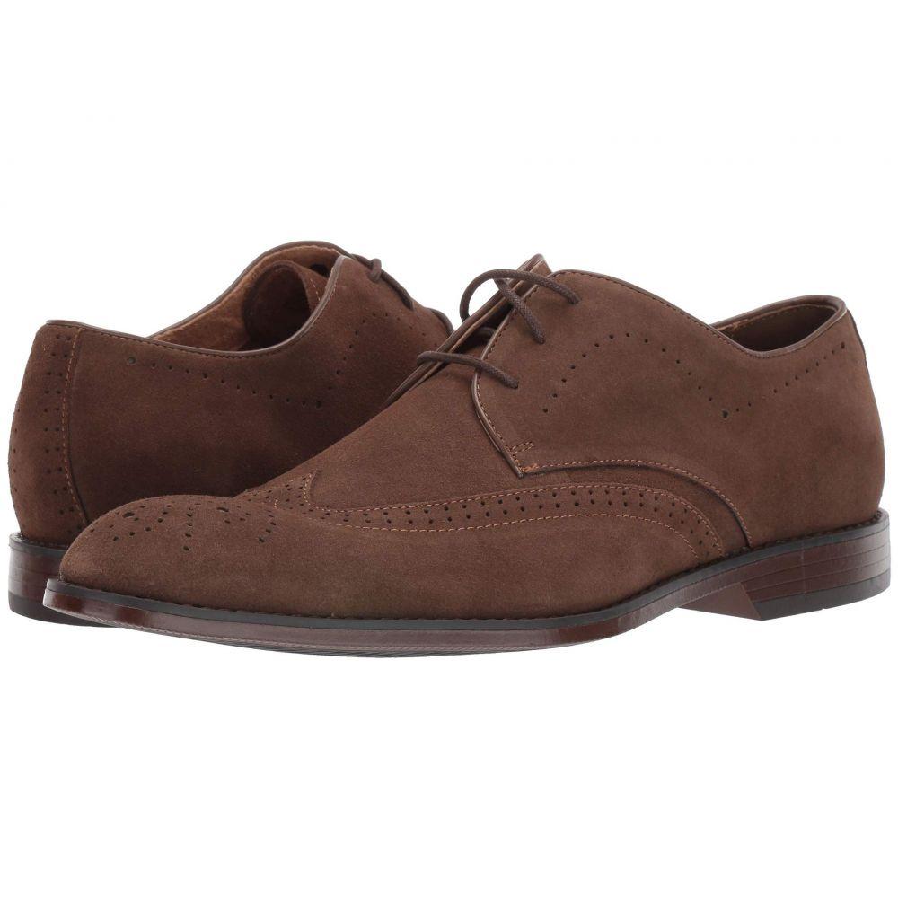 ステイシー アダムス Stacy Adams メンズ 革靴・ビジネスシューズ ウイングチップ シューズ・靴【Wickersham Wing Tip Oxford】Tobacco Suede
