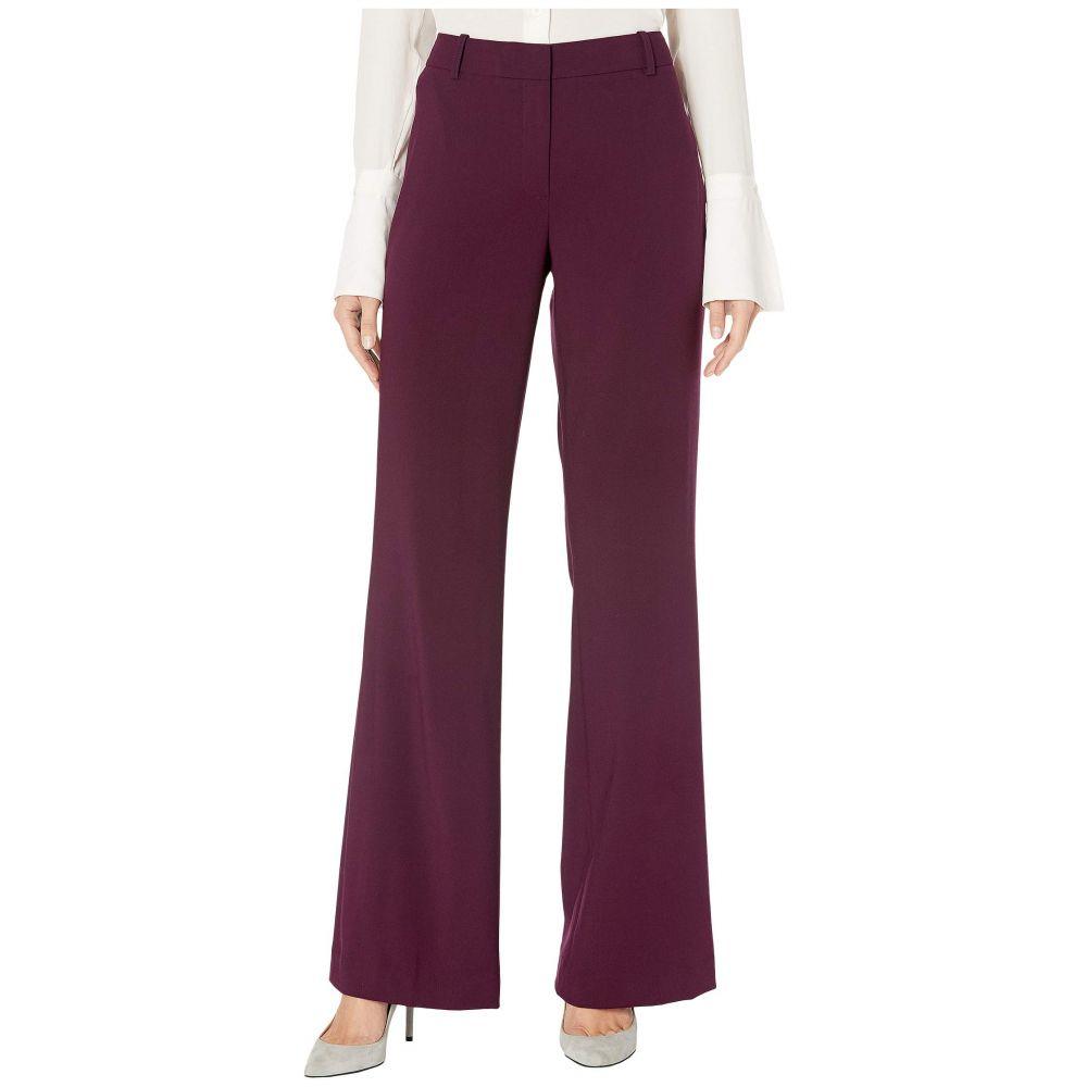 カルバンクライン Calvin Klein レディース ボトムス・パンツ ワイドパンツ【Wide Leg Pants】Aubergine