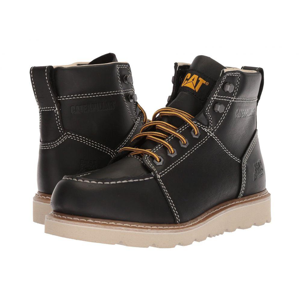 キャピタラー カジュアル Caterpillar メンズ ブーツ シューズ・靴【Tradesman】Black Full Grain Leather