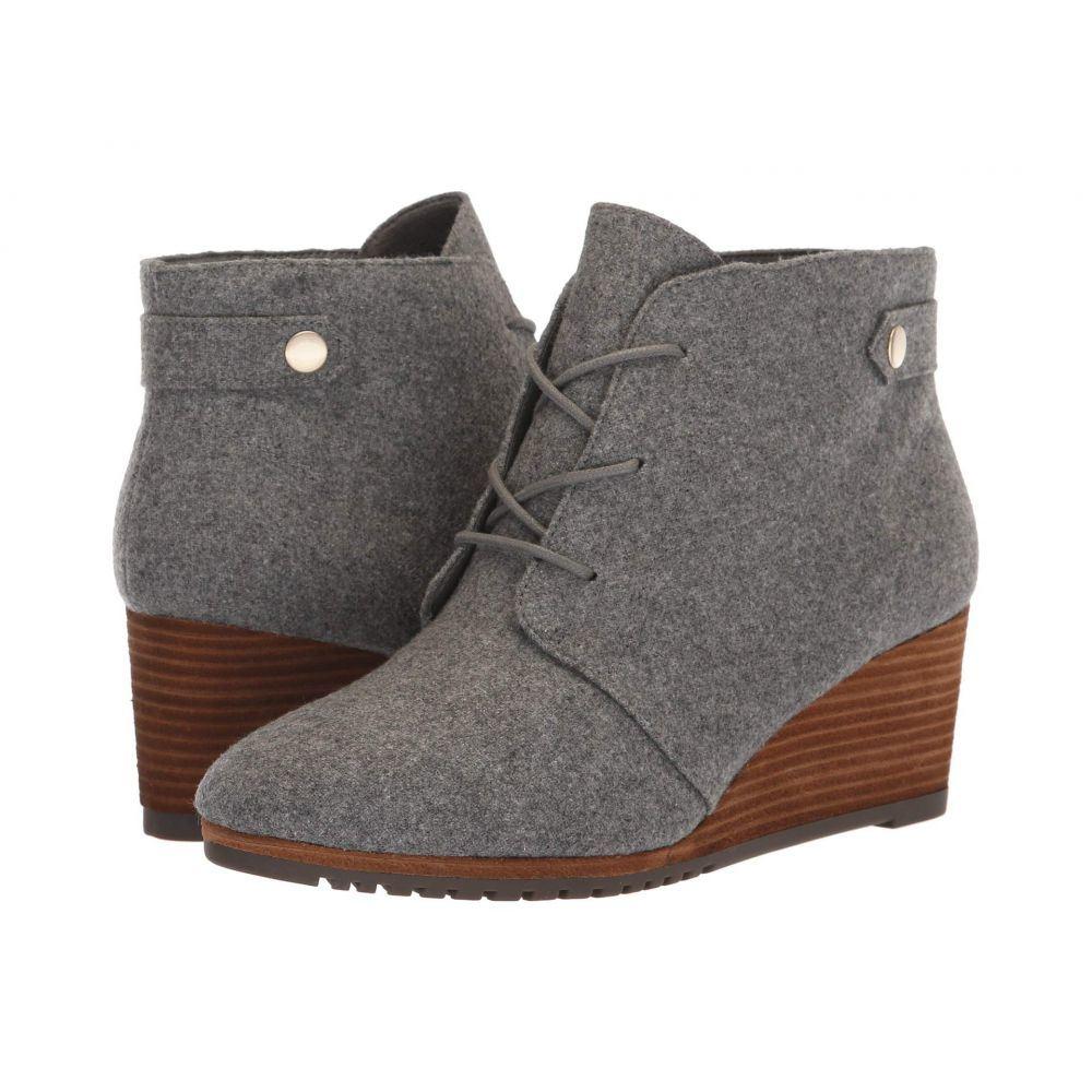 ドクター ショール Dr. Scholl's レディース ブーツ シューズ・靴【Conquer】Grey Flannel Fabric