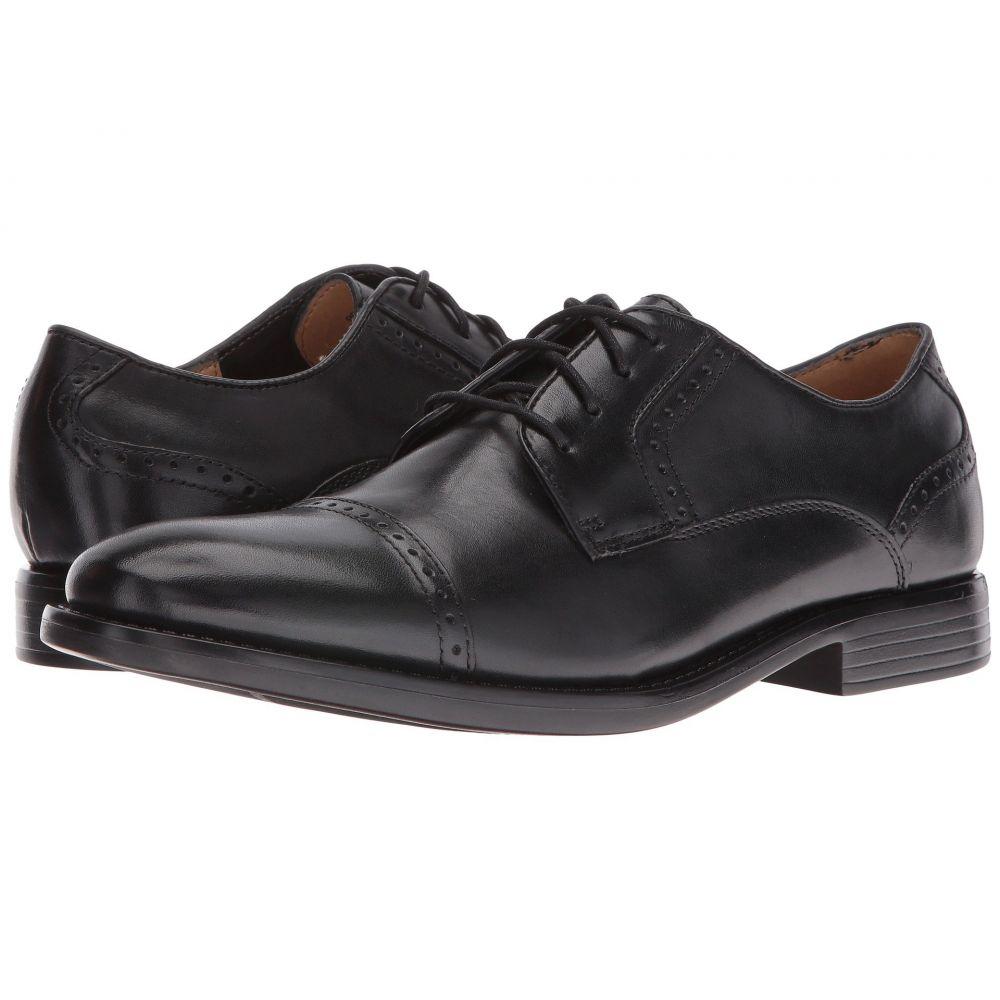 ドッカーズ Dockers メンズ 革靴・ビジネスシューズ シューズ・靴【Hawley Cap Toe Oxford】Black Polished Full Grain