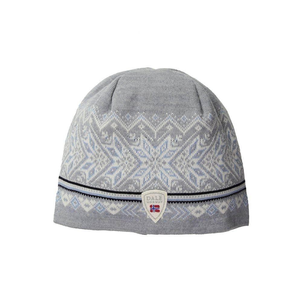 ダーレ オブ ノルウェイ Dale of Norway レディース ニット 帽子【Hovden Hat】T-Grey/Ice Blue/Off-White/Navy