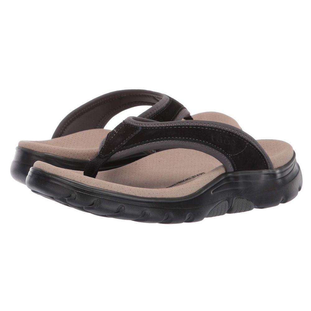 タオス Taos Footwear レディース ビーチサンダル シューズ・靴【Aura】Black/Grey
