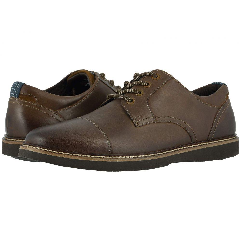 ナンブッシュ Nunn Bush メンズ 革靴・ビジネスシューズ シューズ・靴【Ridgetop Cap Toe Oxford】Brown CH