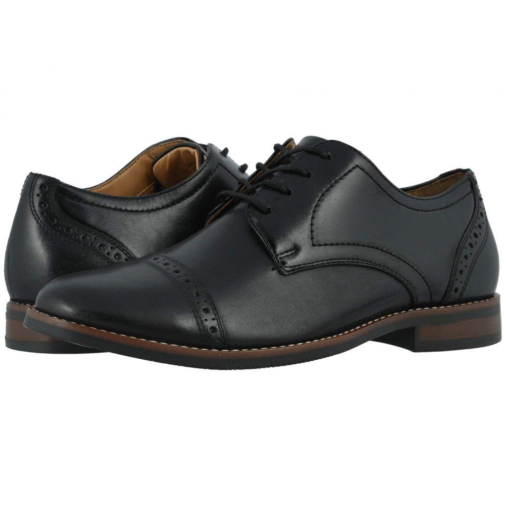 ナンブッシュ Nunn Bush メンズ 革靴・ビジネスシューズ シューズ・靴【Fifth Ward Flex Cap Toe Oxford】Black