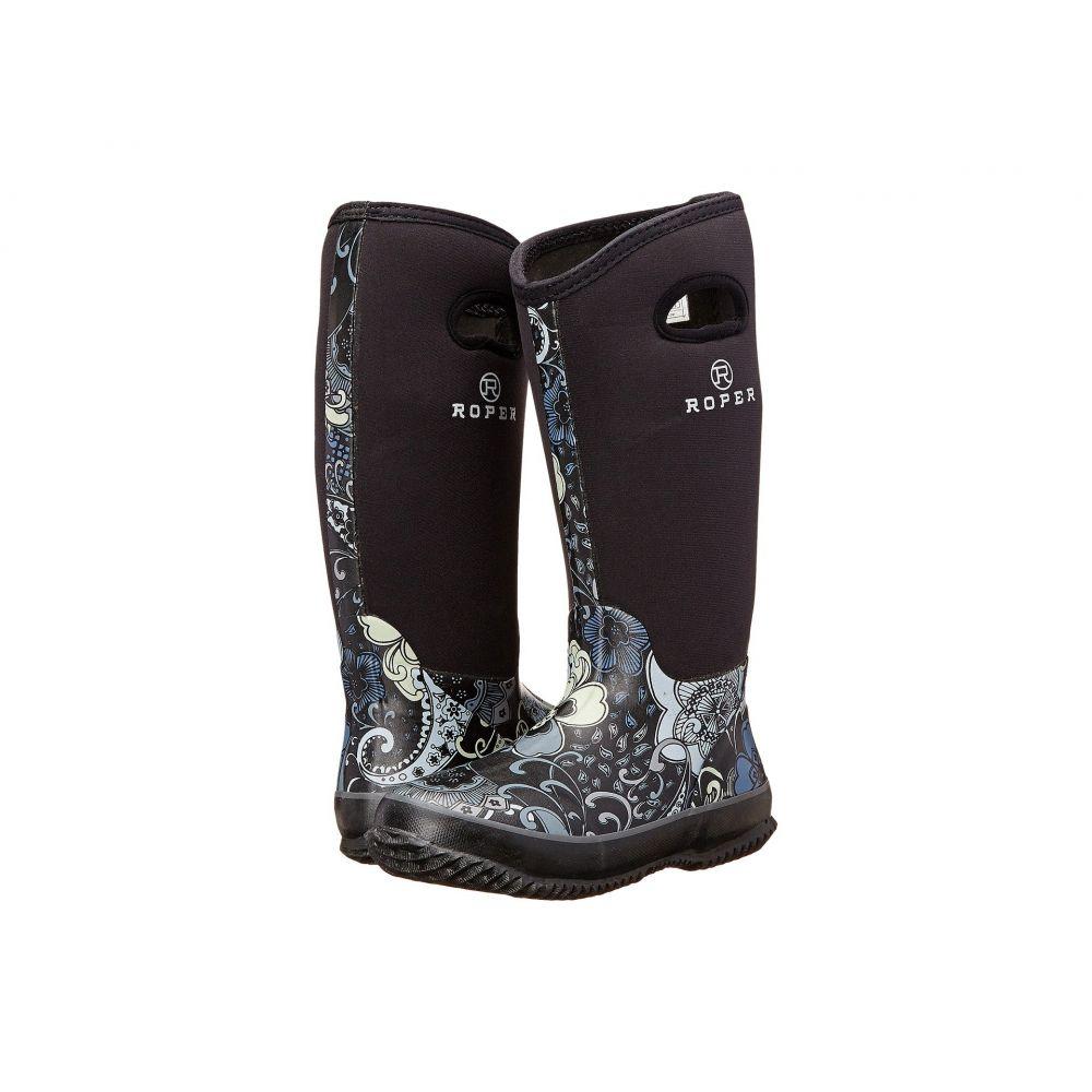 ローパー Roper レディース ブーツ シューズ・靴【Flower Barn Boot】Black