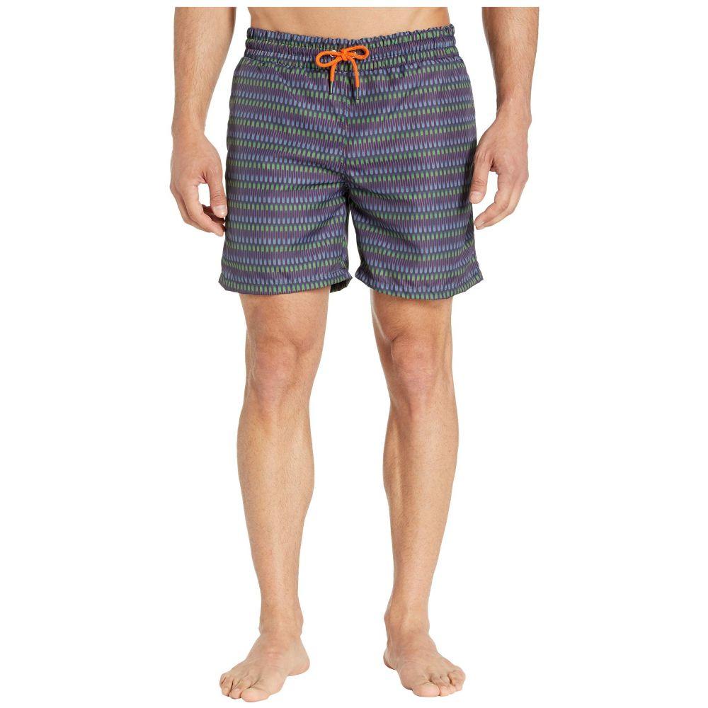 スウィムス SWIMS メンズ 海パン ショートパンツ 水着・ビーチウェア【Breeze Swim Shorts - Long】Jolly Wave
