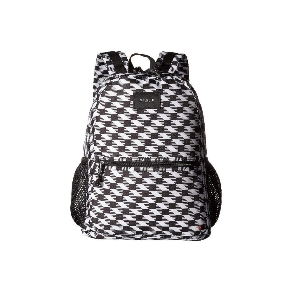 ステイト STATE Bags レディース バックパック・リュック バッグ【Bedford】Black/White