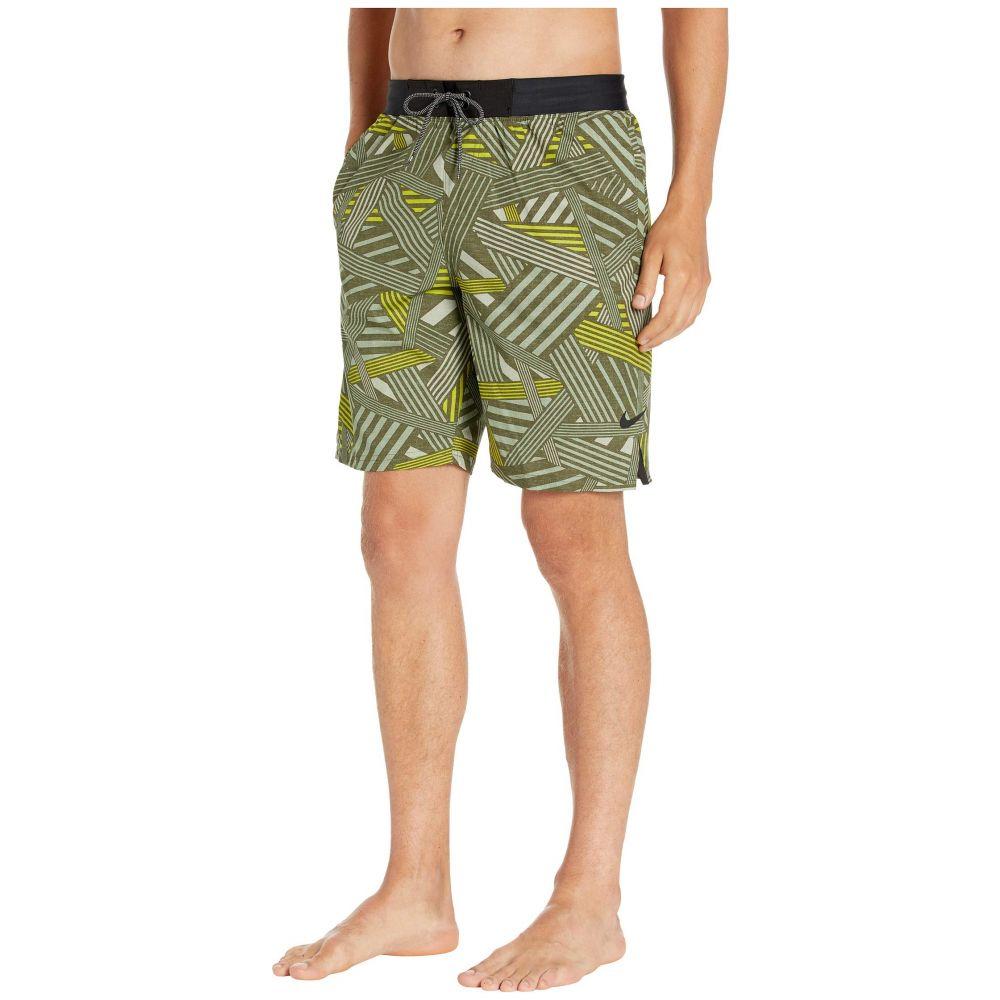ナイキ Nike メンズ 海パン ショートパンツ 水着・ビーチウェア【9' 6:1 Dazzle Vital Volley Shorts】Medium Olive