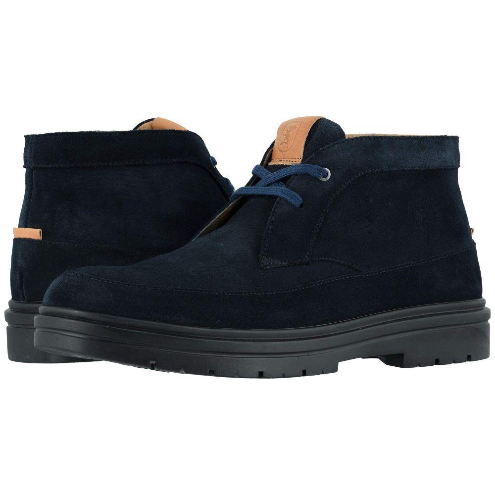 ステイシー アダムス Stacy Adams メンズ ブーツ モックトゥ チャッカブーツ シューズ・靴【Amherst Moc Toe Chukka Boot】Navy Suede