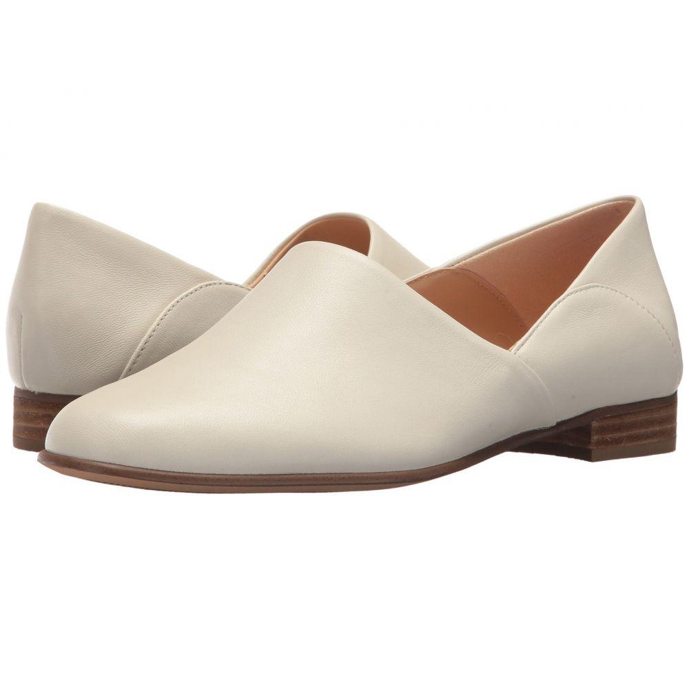 クラークス Clarks レディース ローファー・オックスフォード シューズ・靴【Pure Tone】White Leather