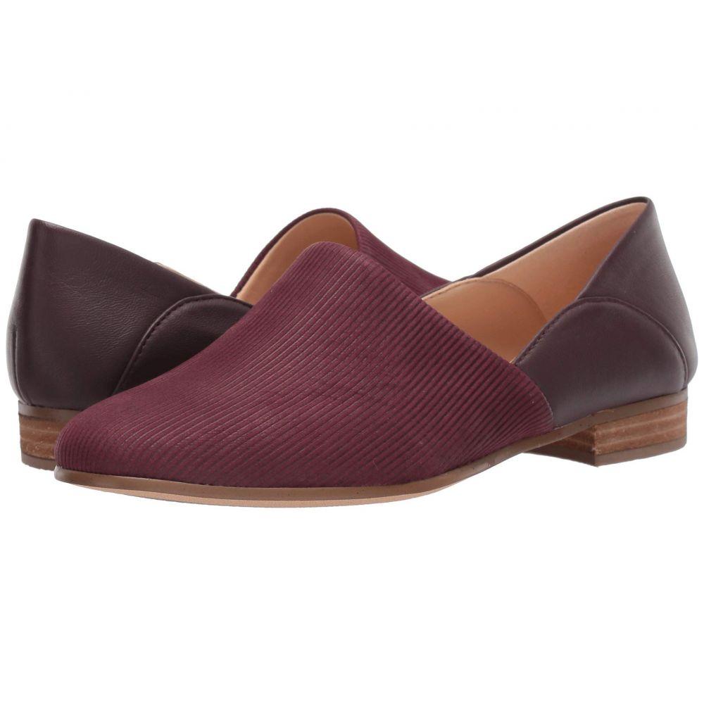 クラークス Clarks レディース ローファー・オックスフォード シューズ・靴【Pure Tone】Burgundy Combi