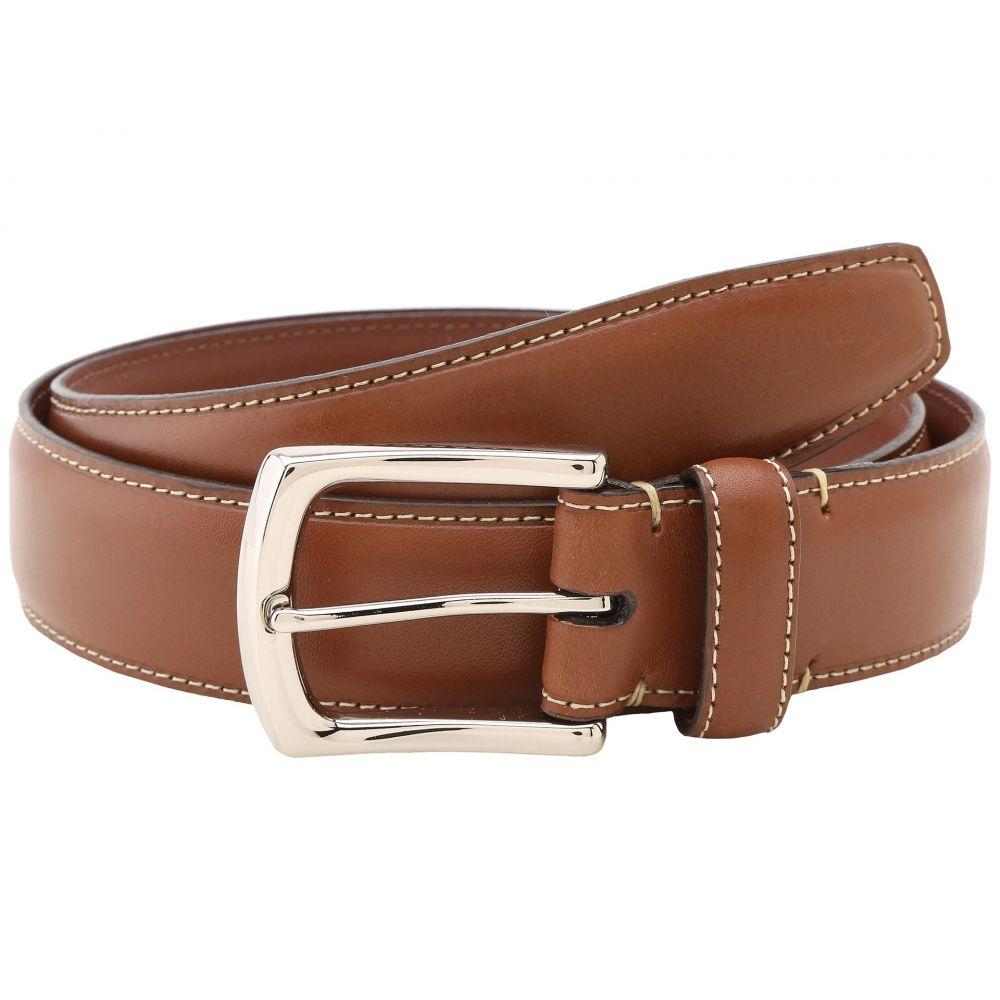 トリノレザー Torino Leather Co. メンズ ベルト 【35MM Burnished Tumbled】Saddle Tan