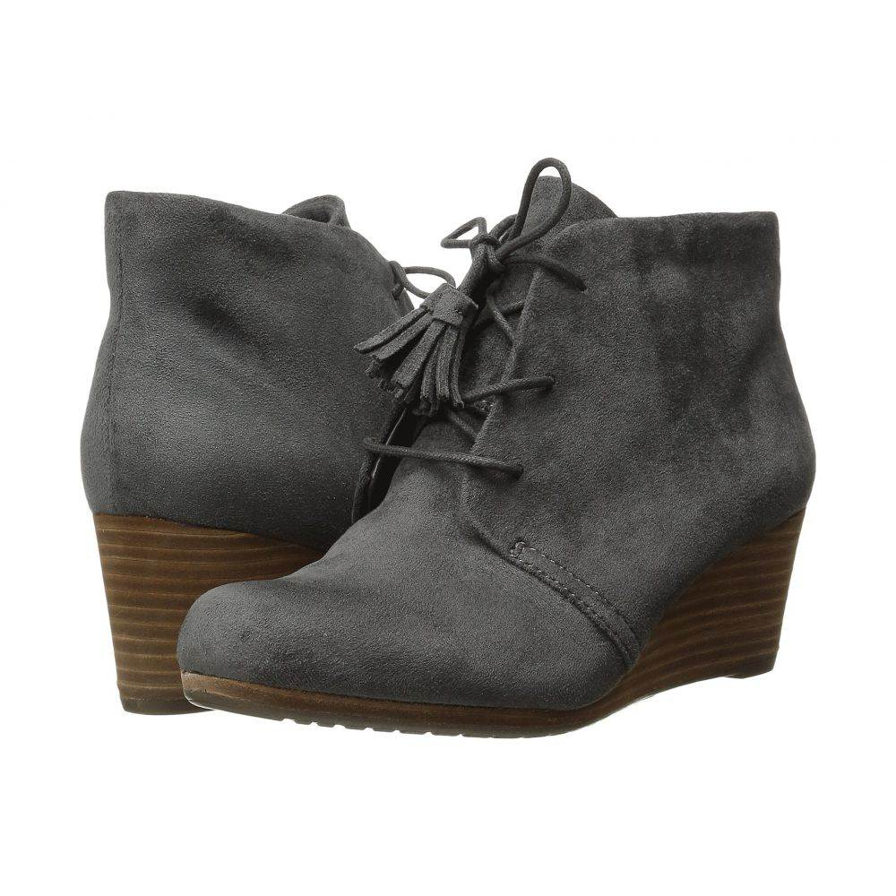 ドクター ショール Dr. Scholl's レディース ブーツ シューズ・靴【Dakota】Grey Microsuede