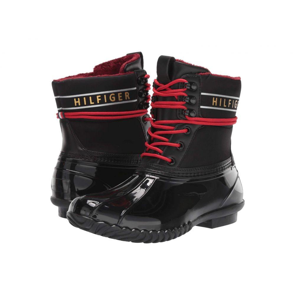 トミー ヒルフィガー Tommy Hilfiger レディース ブーツ シューズ・靴【Hessa】Black Fabric