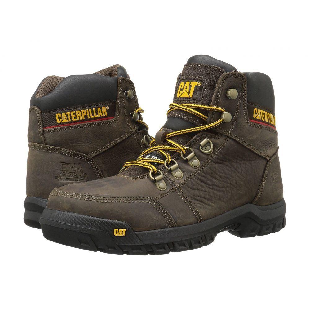 キャピタラー カジュアル Caterpillar メンズ ブーツ シューズ・靴【Outline ST】Seal Brown