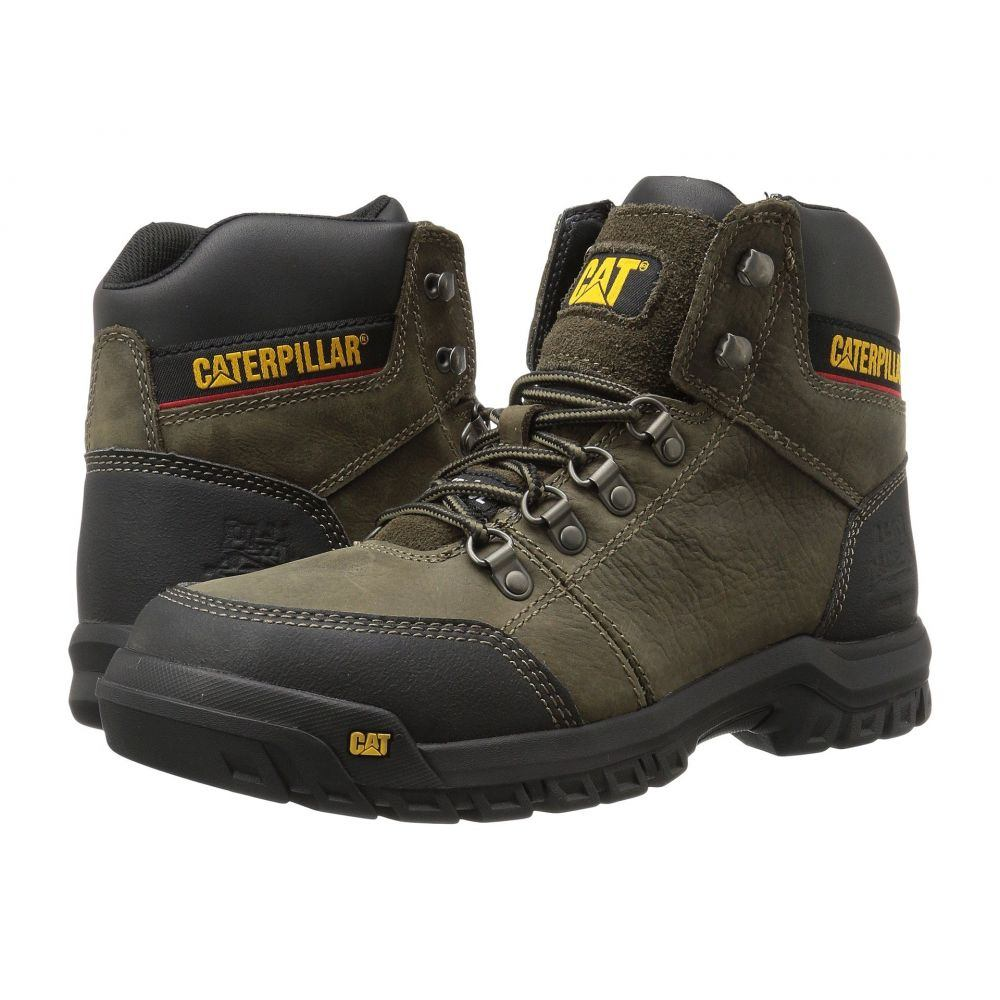 キャピタラー カジュアル Caterpillar メンズ ブーツ シューズ・靴【Outline ST】Dark Gull Grey