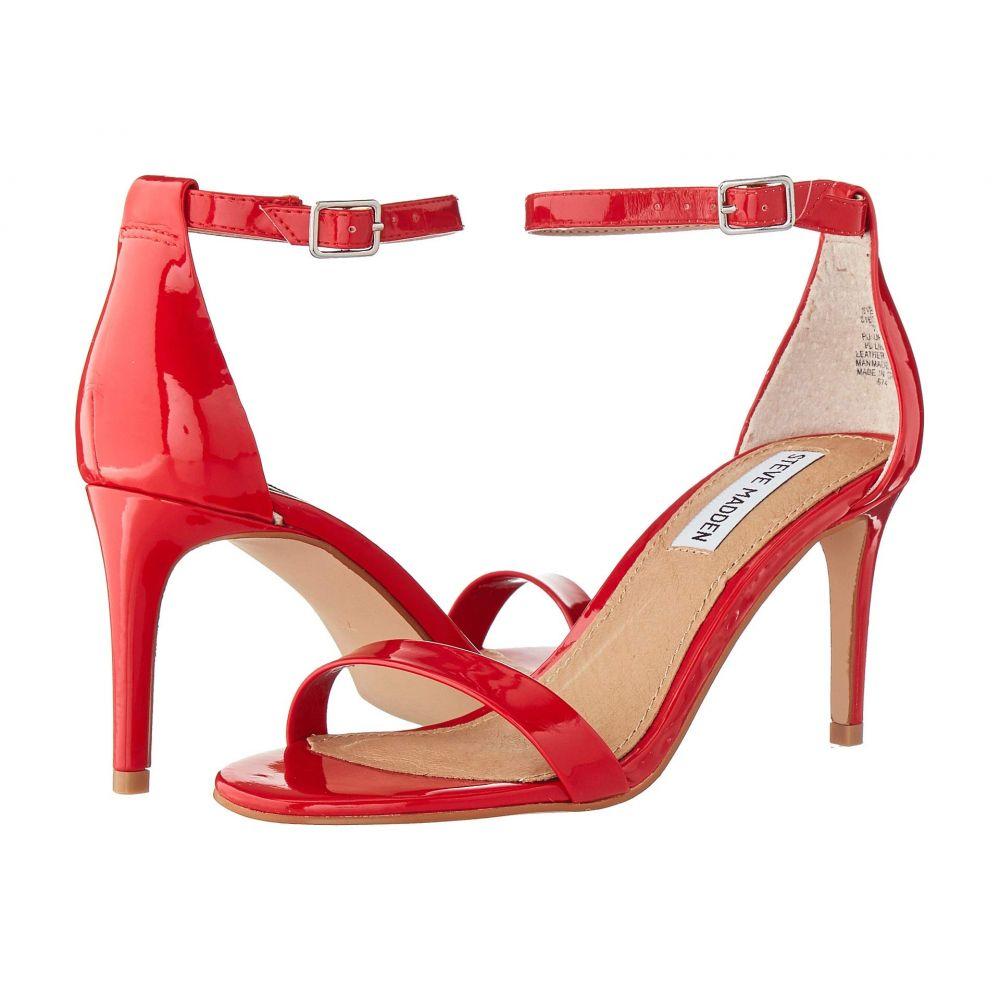 スティーブ マデン Steve Madden レディース サンダル・ミュール シューズ・靴【Exclusive - Stecia Heeled Sandal】Red Patent