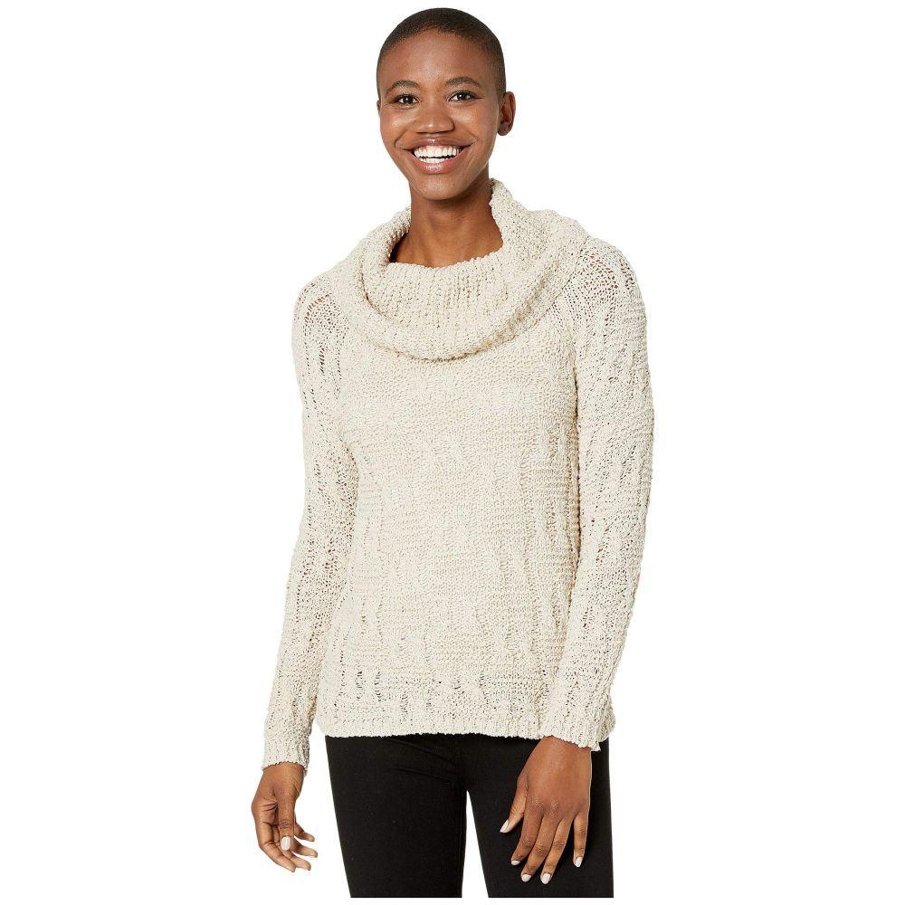 トリバル Tribal レディース ニット・セーター トップス【Long Sleeve Cowl Neck Sweater】Oatmeal