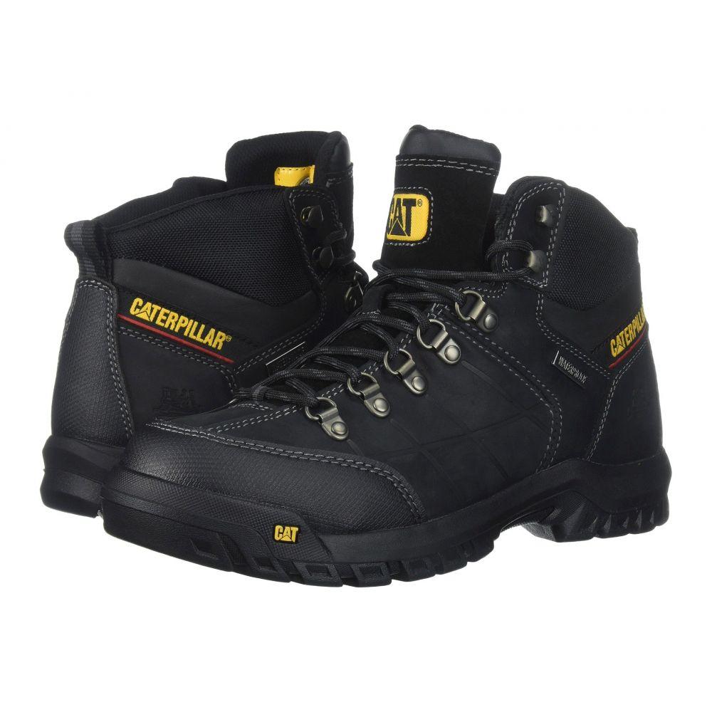 キャピタラー カジュアル Caterpillar メンズ ブーツ シューズ・靴【Threshold Waterproof Soft Toe】Black