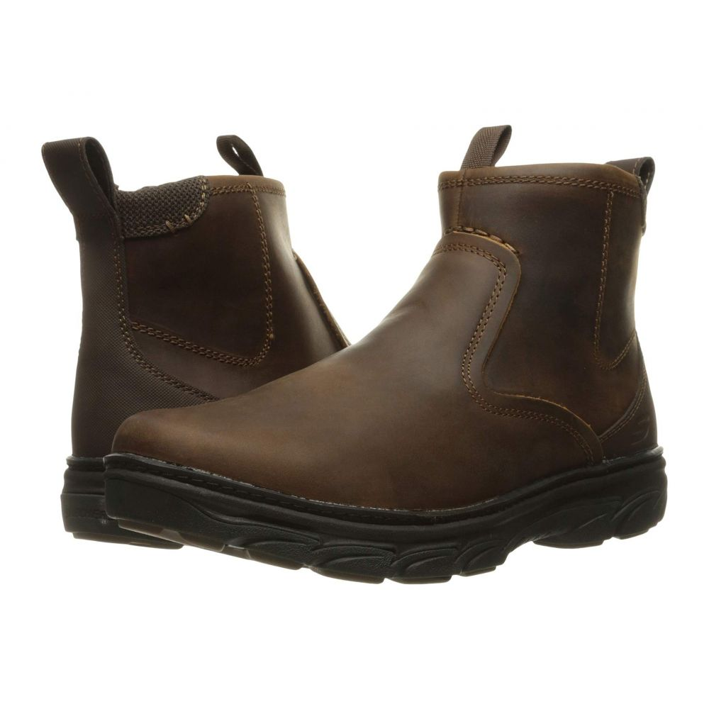スケッチャーズ SKECHERS メンズ ハイキング・登山 シューズ・靴【Relaxed Fit Resment Korver】Dark Brown