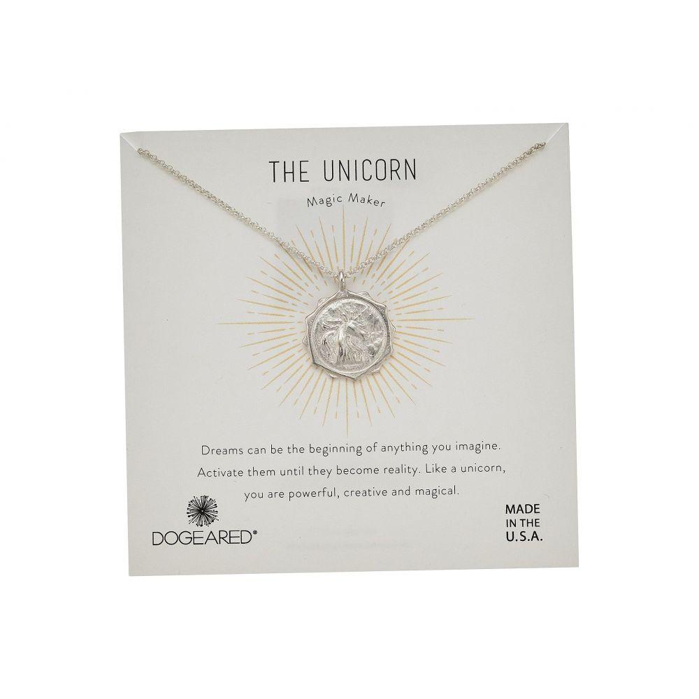 ドギャード Dogeared レディース ネックレス ジュエリー・アクセサリー【The Unicorn Coin Necklace】Silver