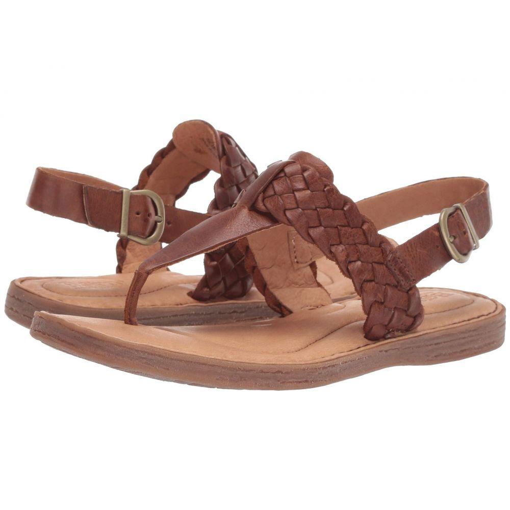 ボーン Born レディース サンダル・ミュール シューズ・靴【Sumter】Tan Full Grain Leather