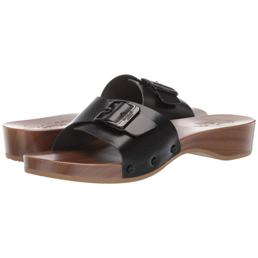 ドクター ショール Dr. Scholl's レディース サンダル・ミュール シューズ・靴【Its Better - Original Collection】Black Glossy Leather