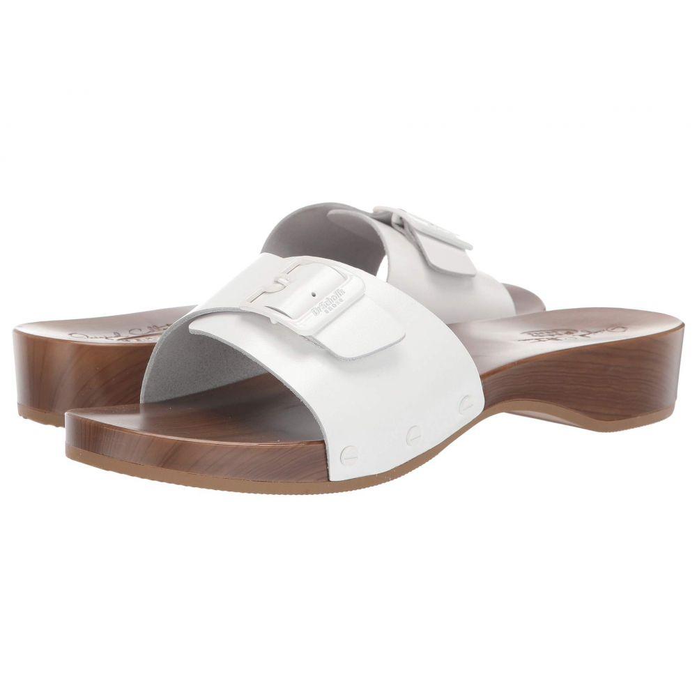 ドクター ショール Dr. Scholl's レディース サンダル・ミュール シューズ・靴【Its Better - Original Collection】White Glossy Leather