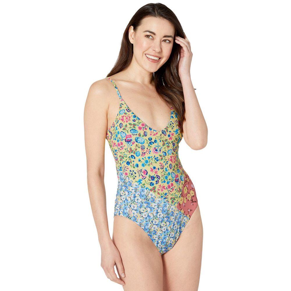 ラルフ ローレン Polo Ralph Lauren レディース ワンピース 水着・ビーチウェア【Floral Mix Spliced Floral One-Piece Swimsuit】Multi